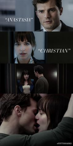 A love beyond words. | Jamie Dornan as Christian Grey | Dakota Johnson as Ana…