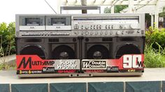 Vintage SHARP GF-777Z Stereo Boombox Ghettoblaster in Consumer Electronics,Portable Audio & Headphones,Portable…