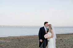 Fun Wedding at French's Point  READ MORE AT => loveandlobster.com #weddings #maine Hailey Tash Photography