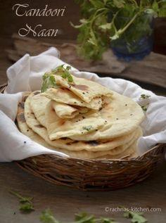 Butter Naan Recipe, Tandoori Naan Recipe - Rachna's KitchenEmailFacebookGoogle+InstagramPinterestRSSTwitter