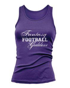 Fantasy Football Goddess - Tank Top NFL Sports Funny Humor Comedy New Hot S-2XL on Etsy, $14.99