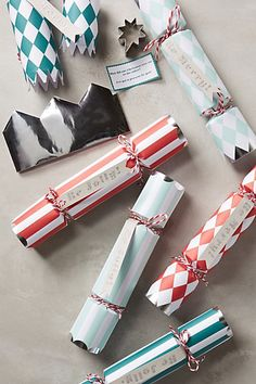 Be Jolly Christmas Crackers - anthropologie.com #anthrofave