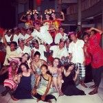 After our private performance given by the musicians and dancers from the local village in Ketewel, Bali.