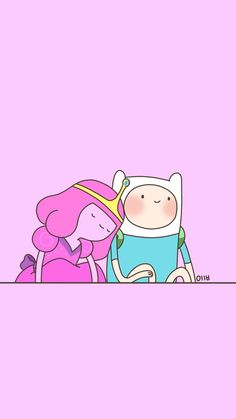 Ideas Wall Paper Cute Cartoon Adventure Time For 2019 Adventure Time Cartoon, Adventure Time Finn, Adventure Time Tumblr, Adventure Time Drawings, Adventure Time Wallpaper, Adventure Time Characters, Adventure Time Marceline, Adventure Time Princesses, Princess Adventure