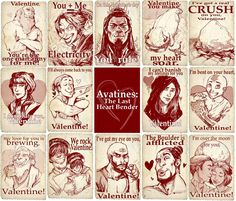 A Very Avatar Valentine's Day - avatar-the-last-airbender Fan Art