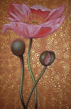 One Pink Poppy by Cherie Roe Dirksen