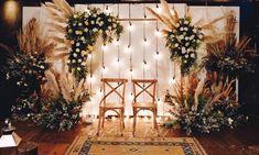 Outdoor Wedding Backdrops, Wedding Backdrop Design, Wedding Reception Backdrop, Rustic Backdrop, Backdrop Decorations, Wedding Centerpieces, Centerpiece Ideas, Engagement Decorations, Wedding Decorations