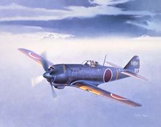 Nakajima Ki-84 Type 4 Fighter Hayate 'Frank' by Shigeo Koike
