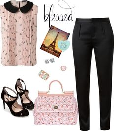 """""""Blessed 3"""" by deedee-carroll ❤ liked on Polyvore"""