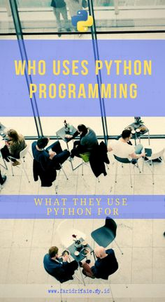 Some people are interested to Python but might still have questions in their mind, are there any big companies who uses Python progra. Python Programming, Computer Programming, Computer Science, Learn Programming, Computer Lab, Data Science, Programming Tutorial, Learn To Code, Online Programs