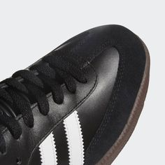 adidas Samba Classic - Black   adidas US Red Sneakers, Adidas Sneakers, Black Adidas, Adidas Men, Adidas Indoor Soccer Shoes, Samba Shoes, Adidas Busenitz, Adidas Samba, Casual Shoes