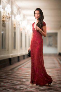 Happy New Year :: Lace dress & Art deco details