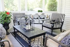 Spring is almost here!  Get ready with back porch Spring decorating!  www.thistlewoodfarms