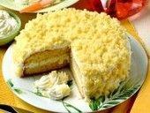 Mimosa taart, Italiaans recept geïnspireerd op bloemenpracht | Eten en Drinken: Recepten