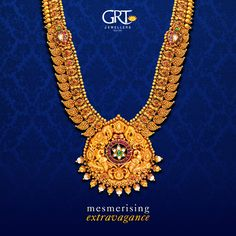 A #necklace that combines #skilled #artistry and unparalleled #design. From its layered #chain of #rubies and #paisley, to its breathtaking #engraved #pendant- you can't stop #staring in awe! - #Antique #Gold #Ethnic #Necklace #Jewellery #Vintage #Collection
