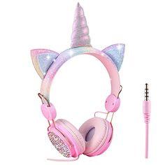 Little Girl Toys, Toys For Girls, Apple Watch Accessories, Girls Accessories, Phone Watch For Kids, Frozen Headband, Cute Headphones, Unicorn Room Decor, Unicorn Fashion