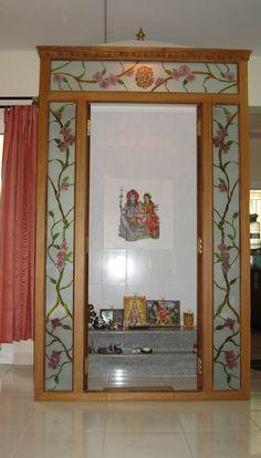 62 ideas for pooja door design ideas living rooms Pooja Room Design, Room Design, Pooja Rooms, Temple Design For Home, Kitchen Design Diy, Home Decor, House Interior, Room Door Design, Pooja Room Door Design