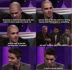"""I can hear Max's voice in my head """"youre like 15"""", can't stop laughing :)"""