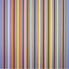 RA 2 - Bridget Riley 1981 - Silkscreen on paper