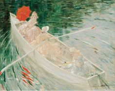 Louis Icart (French, 1888-1950)  The Boat, N/D