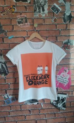 Woman' Clockwork Orange Film t shirt/tee/T-shirt(male fit also available) by BADYOUTHTEES on Etsy
