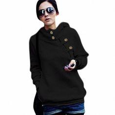 DJT Women's High Collar Long Sleeve Hooded Sweatshirt Black S US2 DJT http://www.amazon.com/dp/B00G3Y8DZ6/ref=cm_sw_r_pi_dp_ahQpwb047C9TR