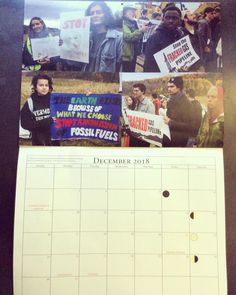 Proud of our eco rep Courtney for standing in solidarity with standing rock & taking #ClimateAction in Greprags Park last year during the #pipeline construction. #Support this #350Vt calendar to get a closer look at progressive & creative activism  #ClimateJustice #Sustainability #RenewableEnergy #EnvironmentalJustice