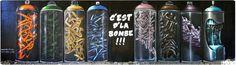 https://flic.kr/p/dcU6Z1 | TOULOUSE (FR) 2009 | Mur C d'la bombe...