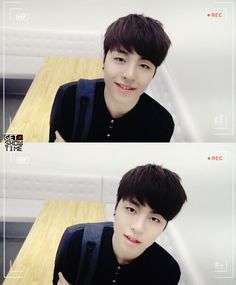 Aww , this pic our Junhoe look so handsome and cute. cap. from m&m dvd.
