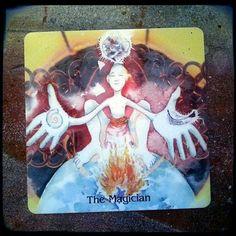 Let's make some magic!  http://ift.tt/2c2n78m #theeverydaytarot #tarot #tarotcards