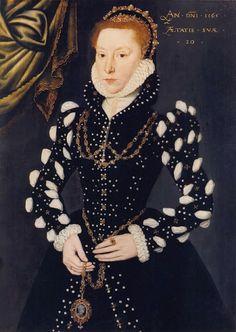 1565: Eleanor Benlowes (1545 - 1565) attributed to Steven van der