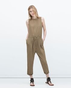 LONG JUMPSUIT-Jumpsuits-WOMAN | ZARA United States