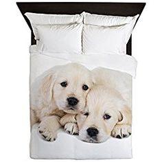 CafePress - White Labradors - Queen Duvet Cover, Printed Comforter Cover, Unique Bedding, Luxe