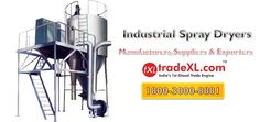 Heavy Duty & Durable Spray Dryers Manufacturers & Suppliers in India