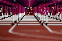 Ashton Eaton of the United States looks on prior to competing during the Men's Decathlon Hurdles heats on Day 13 of the London 2012 Olympic Games at Olympic Stadium on August 110m Hurdles, Discus Throw, London Olympic Games, London Photos, Decathlon, Track And Field, Cool Pictures, Sports, Fotografia