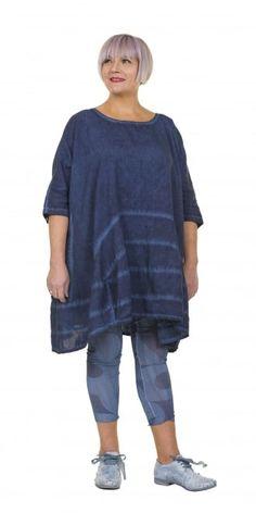 Rundholz Black Label Blueberry Linen Tunic-Dress