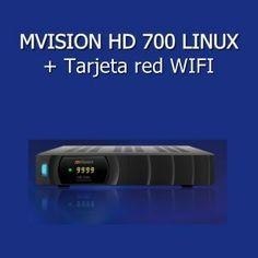 Receptor satelite Mvision HD700 LINUX+WIFI
