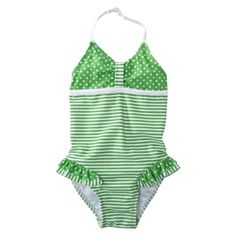 Stripedot Swim Suit