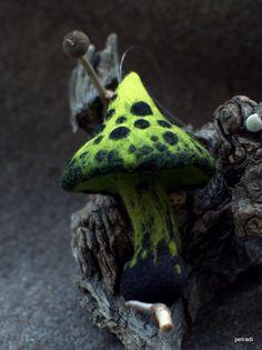 Poison mushroom by Petradi on Etsy