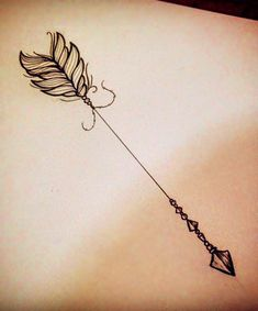 This is the beautiful collection of arrow tattoos designs. These tattoos make you attractive and beautiful. This tattoo is suitable for all occasions. Mini Tattoos, Trendy Tattoos, Cool Tattoos, Tasteful Tattoos, White Tattoos, Amazing Tattoos, Tatoos, Leg Tattoo Men, Forearm Tattoos