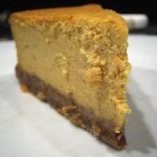 Gâteau fromage et citrouille avec croûte croquante