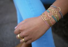 DIY Ring-Thing Bracelet: Picture Tutorial by Shibal at Sdelay-Sam.su