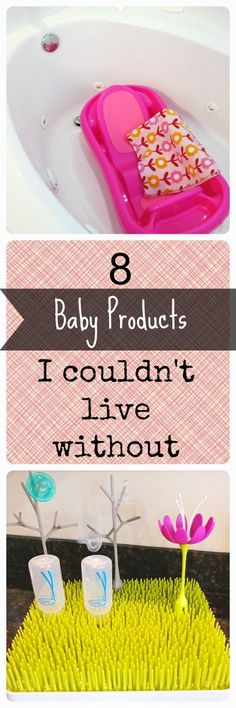 8 Baby Products I Couldn't Live Without | + Best Kept Secret to helping your baby love their bath!: