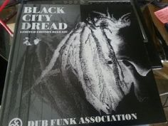 The Dub Funk Association Black City Dread Vinyl LP 2001 Near Mint condition