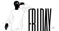MOOD   Happy Friyaaay Everyone!   #WeirdoWardrobe #Friyaaay #Friday #Mood #TGIF #love #Melanin #Afro #Slayer #AfroInspired #sunshades #illustration #urbanfolks #urbanstyle #Nigerian #YouIsFlawless #HaveAGreatWeekend #iloveyoutoo by u_tbj
