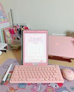 My Melody Sanrio, Desk Set, Study Notes, Ipad, Kawaii, Apple, Youtube, Instagram, Apple Fruit