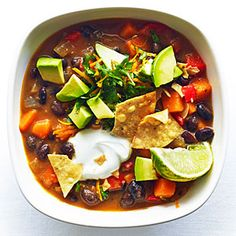 Sweet Potato and Black Bean Chili Recipe