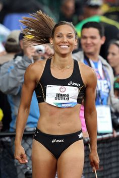 Lolo Jones: The gorgeous, charismatic Jones became a crossover media sensation after divulging to HBO's Real Sports that she's a virgin.