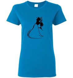 Women Short Sleeves Graphic T-Shirt (Female Warrior)