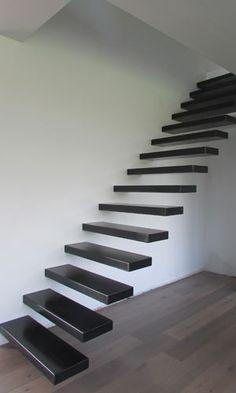 Zwevende trap model : Bloxx Steel|Design Trappen Vergeert